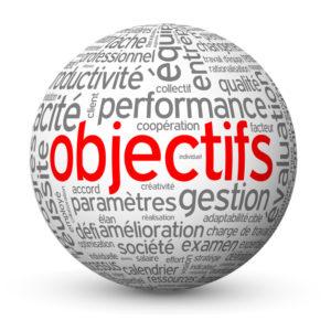 Globe - Nuage de Tags OBJECTIFS (équipe performance management)