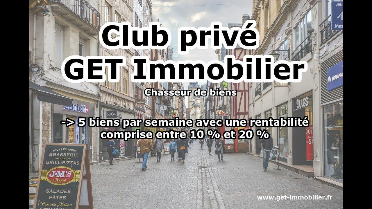 Présentation du Club Privé Get Immobilier