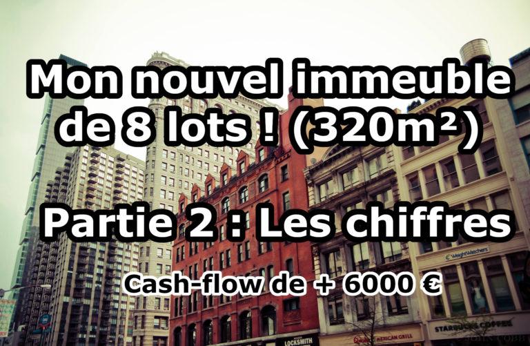Mon nouvel immeuble de rapport, 8 Lots, 320 m², 5600 € de Cash Fow !
