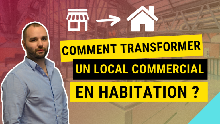 Comment transformer un local commercial en habitation ?